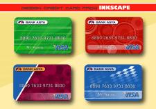 Макеты кредитных карточек