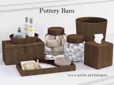 Pottery Barn Tava Bath Accessories