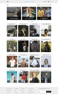"""UX & UI Design. Online Shop """"Buy"""""""