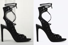 Обработка обуви для интернет-магазина
