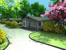 Дом в саду