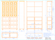 Конструкторская документация на изготовление шкафа