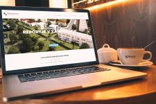 Дизайн сайта, продажа домов в коттеджном городке