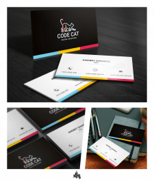 визитки для CodeCat