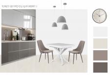 Концепт-ідея інтер'єру кухні ЖК Синергія-3