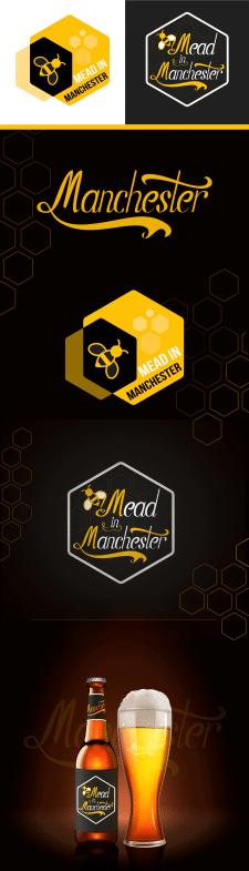 Мед в Манчестере с логотипом и этикеткой