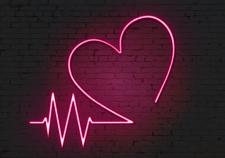 Сердце неоновое