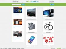 "Ре-дизайн сайта ""dataleks.lv"""