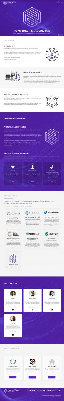 Avada , одностраничный сайт