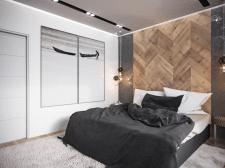 спальня лофт1
