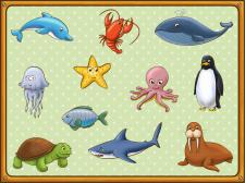Персонажи для детского приложения