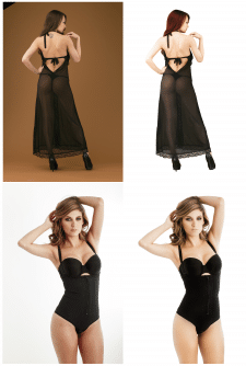 Ретушь моделей одежды для интернет магазинов