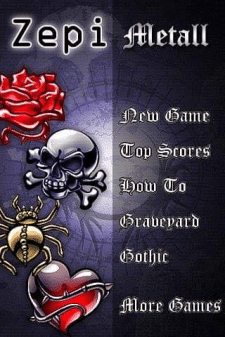 Интерфейс игры для zeppi metal games