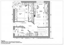 План розташування меблів 2 поверх