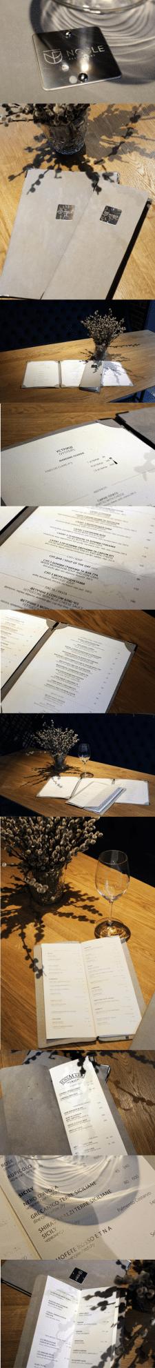 Розробка меню для ресторану