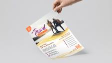 Листовка для агентства туров
