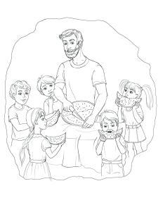 Ілюстрація до дитячої книжки