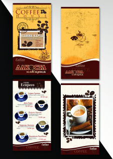 Дизайн кофейной карты