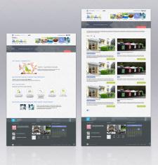 "Дизайн внутренних страниц сайта ""Нове місто"""
