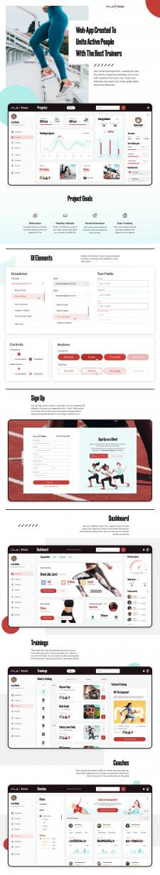 Десктопное приложение для спортивных людей