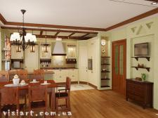 Кухня + обеденная зона