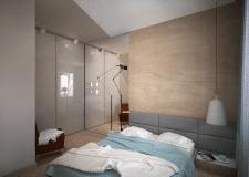 Перепланировка 1-комнатной квартиры_спальня