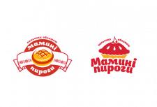 "лого для сети быстрого питания ""Мамині Пироги"""