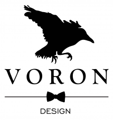 Логотип Voron Design