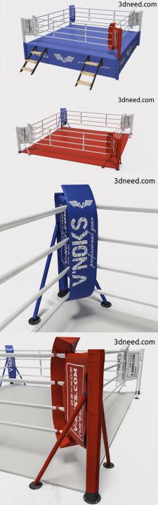 3d моделирование и визуализация ринга