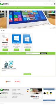 Создание, дизайн и поддержка магазина IT-продукции