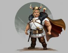 бравый викинг