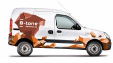 Брендинг автомобиля B-Tone