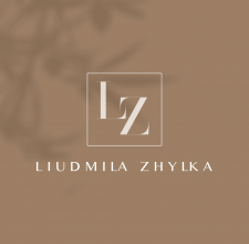 Логотип для пихолога Людмила Жилка