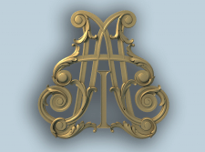 Модель декоративной вставки