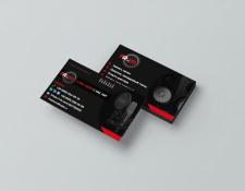 Дизайн визитки студии звукозаписи