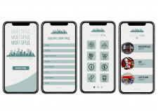 Интерфейс мобильного приложения