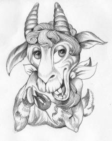 Персонаж Коза
