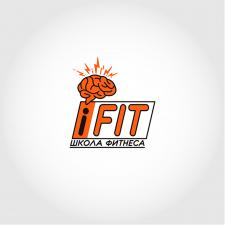 Логотип для сайта школы фитнеса iFit