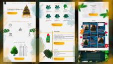 Создание сайта-каталога по продаже датских ёлок