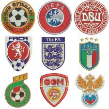Логотипы разработаны в программе Wilcom