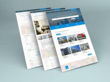 Сайт для продажи и аренды недвижимости