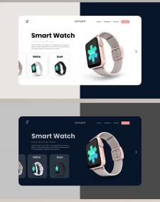 Smart Watch Concept Web / Целевая страница
