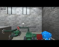 Проект лабораторного стенда в Unity 3d