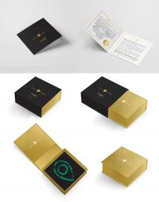 Коробка для ексклюзивної серії нефритових прикрас
