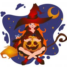 Иллюстрация ведьма