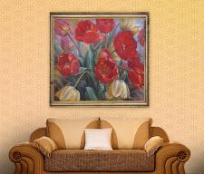Живопись «Тюльпаны»