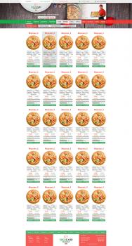 Дизайн сайта по доставке пиццы