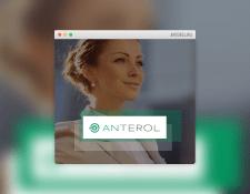 Лендинг консалтинговой компании «Антерол»