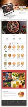 Дизайн для доставки пиццы