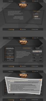 Дизайн для сайта wasp.company